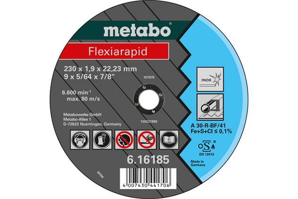 Metabo Rezný kotúč Flexiarapid 150x1,6x22,23 Nerez TF 41