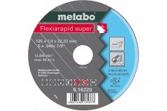 Metabo Flexiarapid super 115x1,0x22,2 Inox