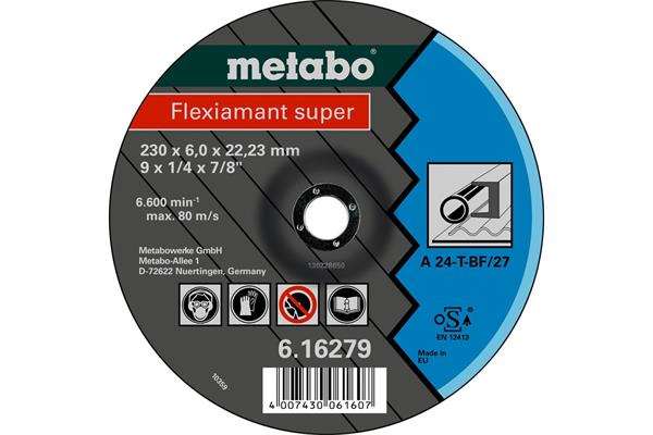 Metabo Flexiamant super 180x6,0x22,2 oceľ