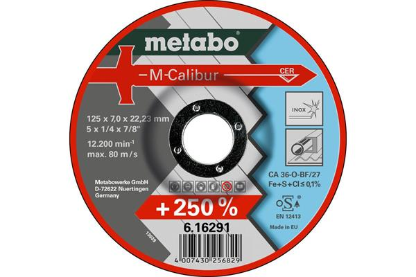 Metabo M-Calibur 125x7,0x22,23 mm