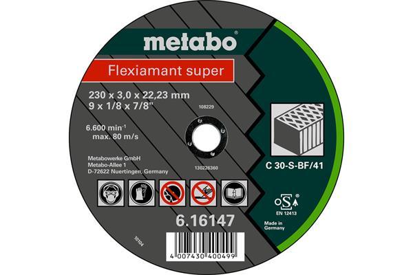 Metabo Rezný kotúč Flexiamant super 230x3,0x22,2 kameň