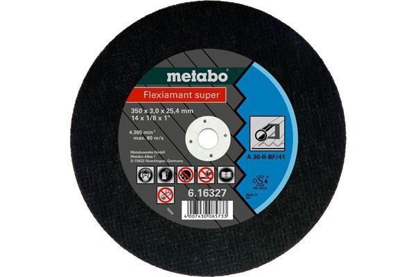 Metabo Flexiamant super 300x2,5x25,4 oceľ