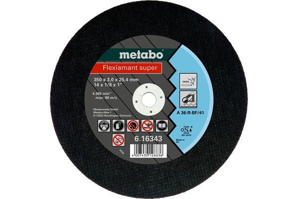 Metabo Flexiamant super 350x3,0x25,4 Inox