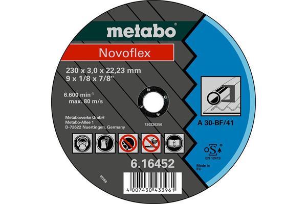 Metabo Novoflex 230x3,0x22,2 oceľ