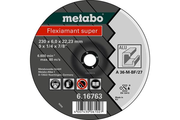 Metabo Flexiamant super 230x6,0x22,2 Alu