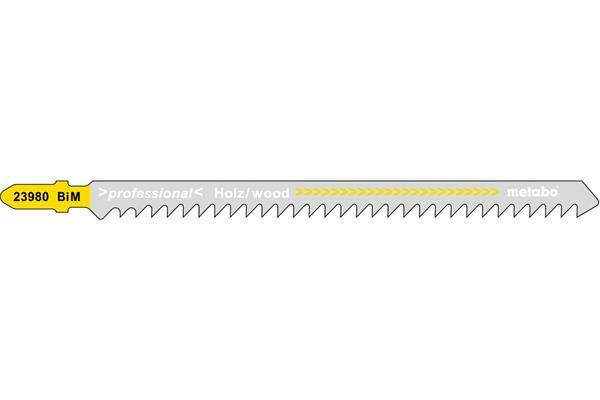 Metabo 5 pílových plátkov 125 mm / 4