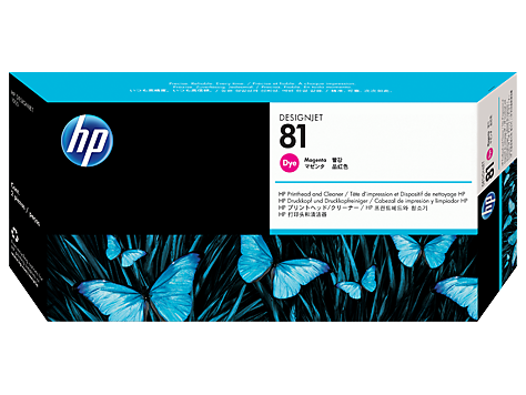HP No. 81 Magenta Print Head for HP DSJ 5000