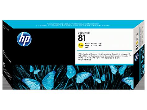 HP No. 81 Yellow Print Head for HP DSJ 5000
