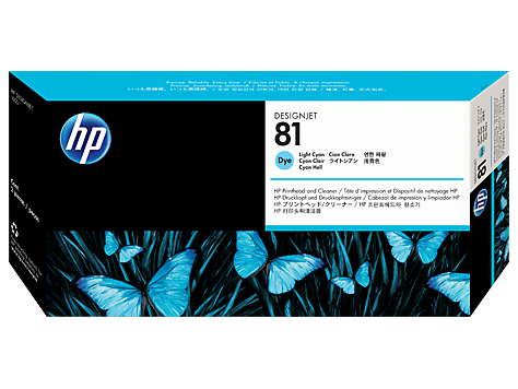 HP No. 81 Light Cyan Print Head for HP DSJ 5000