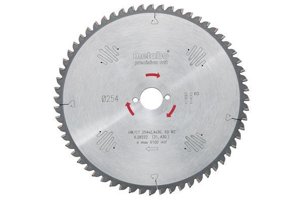 Metabo Pílový kotúč HW/CT 167x20, 40 WZ 10°