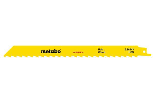 Metabo 5 pílových plátkov do chvostovej píly HCS 225x1,25 mm/8,5