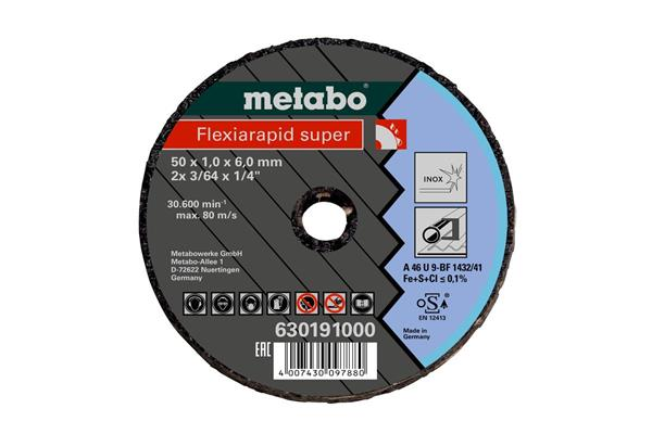 Metabo Malý rezací kotúč 76x1,1x6 mm