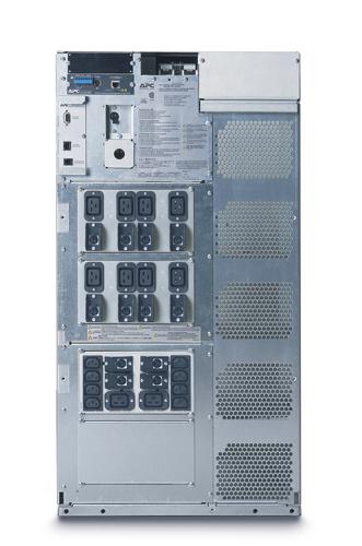APC SYMMETRA LX 16kVA N+1 Rack-mount Frame, 220/230/240V OR