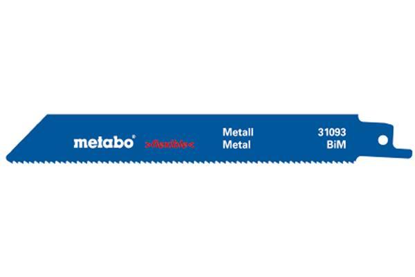 Metabo 5 pílových plátkov do chvostovej píly BiM 150x0,9 mm/1,8