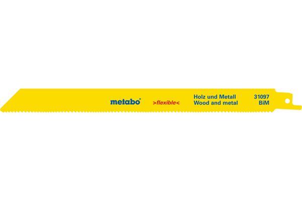Metabo 5 pílových plátkov do chvostovej píly BiM 225x0,9/1,8-2,6