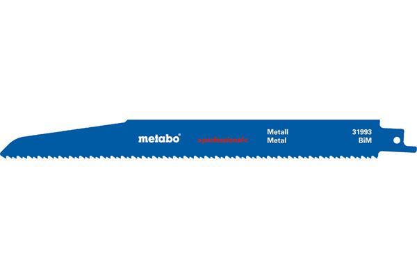 Metabo 5 pílových plátkov do chvostovej píly BiM 225x1,6 mm/2,9