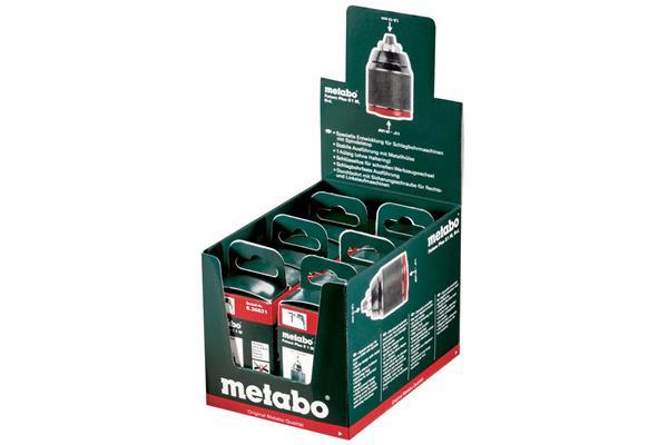 Metabo Prezentačné balenie 6ks rýchloupínacích skľučovadiel Futuro Plus S1M, 636621000