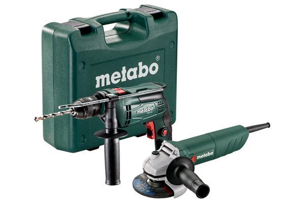 Metabo SBE 650 + W 750-125, Sada káblových strojov