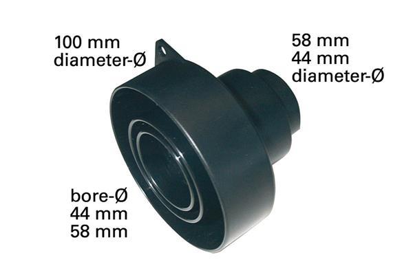 Metabo odsávací adaptér Multi 100/58/44-58/44