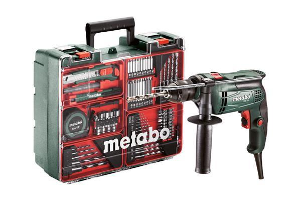 Metabo SBE 650 Mobilná dielňa - 650-Wattová Príklepová vŕtačka s elektronikou