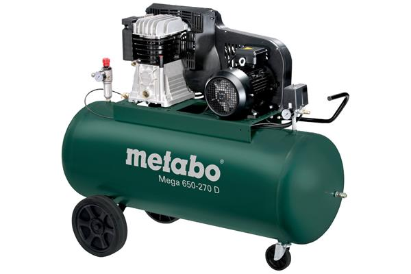 Metabo Mega 650-270 D Olejový Kompresor