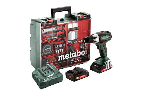 Metabo BS 18 LT Set Mobilná dielňa