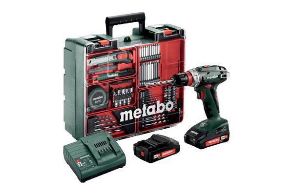 Metabo BS 18 Quick Set Mobilná dielňa