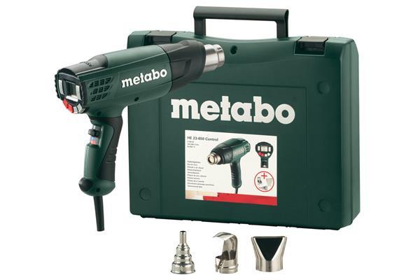 Metabo HE 23-650 Control Teplovzdušná pištoľ 2300W