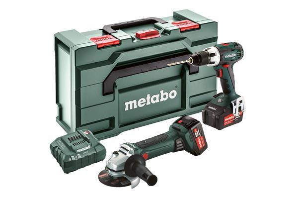 Metabo Combo Set 2.4.1 18 V * BSLT + W18