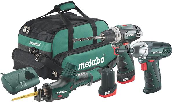 Metabo Combo Set 3.2 10.8 V * BS + ASE + SSD