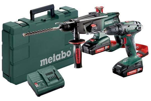 Metabo Combo Set 2.3.2 18 V * BS + KHA