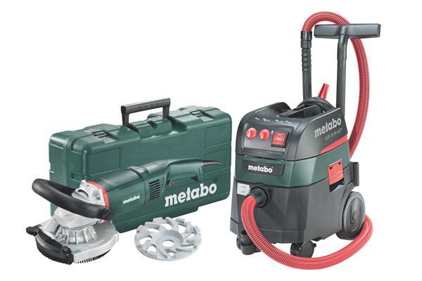 Metabo Set RS 17-125 Abrasiv + ASR 35 M ACP