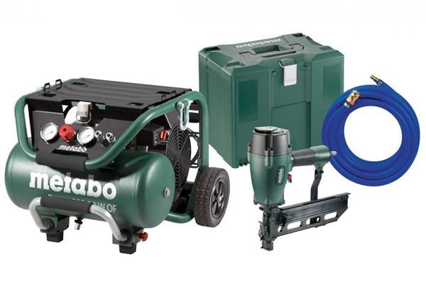 Metabo Set Power 400-20 W OF + DKG 114-65 + hadica 10x2 + MetaLoc