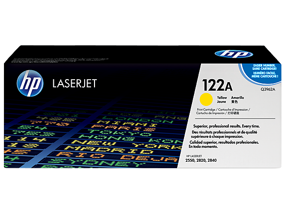HP toner pre CLJ2550 Yellow (appx. 4000 pages)
