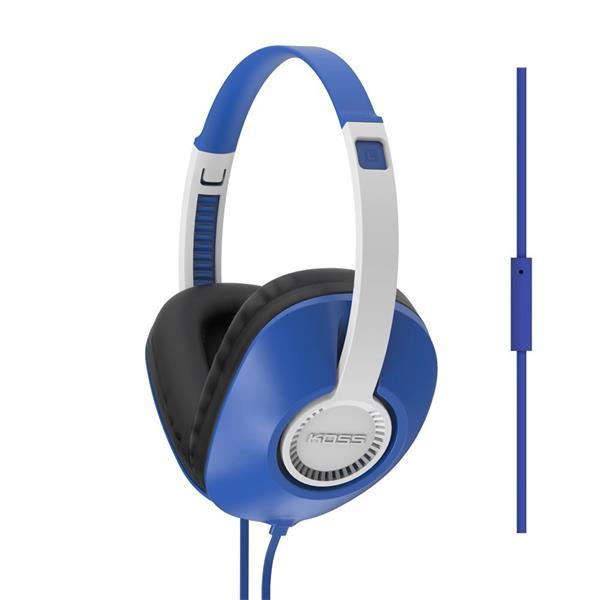 KOSS UR/23iB sluchatka vysokej kvality - v modrom prevedeni