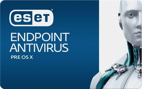 ESET Endpoint Antivirus pre macOS 50PC-99PC / 1 rok