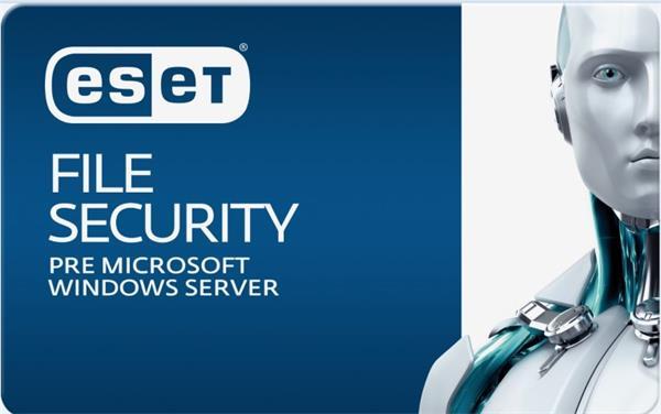 Predĺženie ESET File Security for Microsoft Windows Server 4 servre / 1 rok