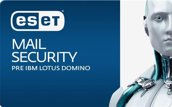 Predĺženie ESET Mail Security for IBM Lotus Domino 11PC-25PC / 1 rok