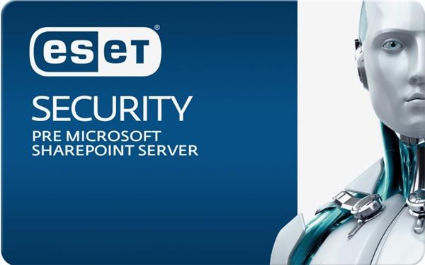 Predĺženie ESET Security for Microsoft SharePoint Server 26PC-49PC / 1 rok