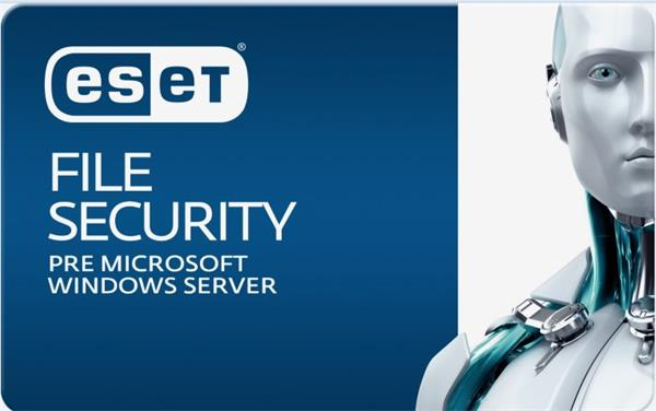 Predĺženie ESET File Security for Microsoft Windows Server 30 serverov / 1 rok