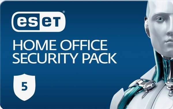 Predĺženie ESET Home Office Security Pack 5PC / 1 rok