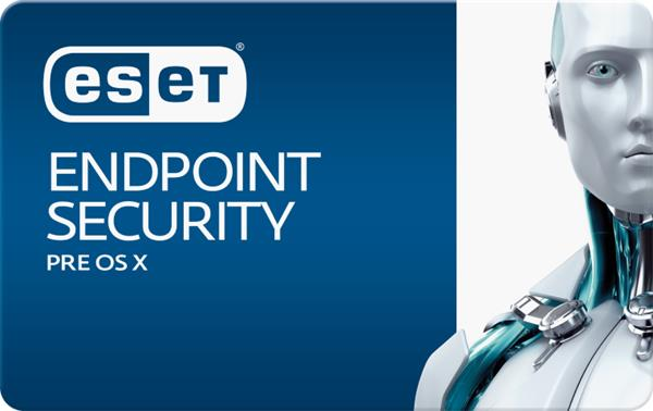 ESET Endpoint Security pre macOS 50PC-99PC / 1 rok