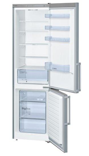 BOSCH_Chladnicka 201 cm, chlad. 248l, mraz. 94l, 237 kWh/365 dní, LED-displej, A++, InoxLook