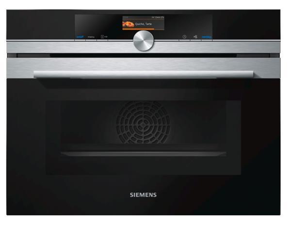 SIEMENS_kompaktná rúra s mikrovlnami, cookControl Plus, 4D horúci vzduch (13 druhov ohrevu vr. ecohorúci vzduch), 45 l