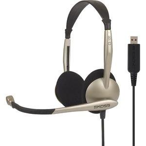 KOSS CS/100 sluchatka s mikrofonom USB