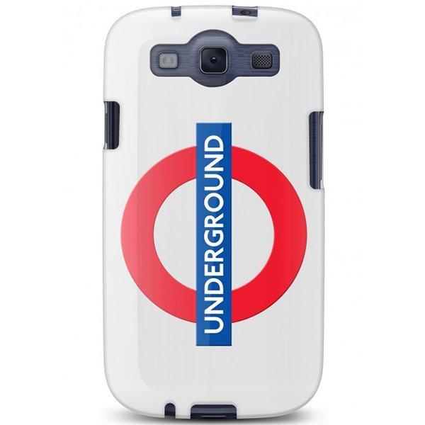 Cygnett, London Transport Series PC hard case Tube pre Samsung Galaxy S III, logo metra