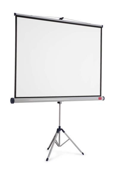 NOBO 4:3 TRIPOD SCREEN 2000 x1510mm, manuálne plátno matné biele na trojnožke