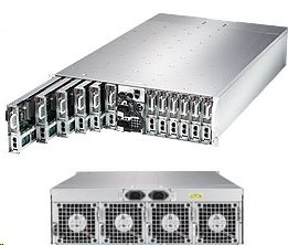 Supermicro Server SYS-5039MS-H12TRF 3U MicroCloud 12xnode 1CPU