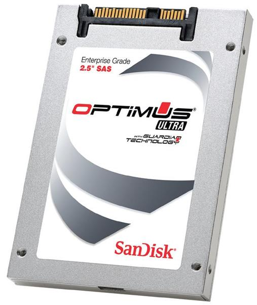 SanDisk Optimus 2 Extreme 400GB 6Gb/s SAS 2,5' SSD 9.5mm