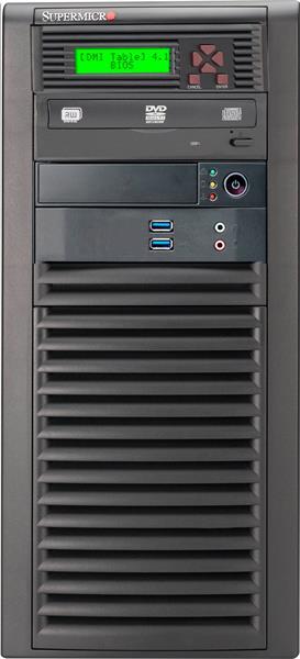 Supermicro® CSE-732D3-903B Tower WhisperQuite